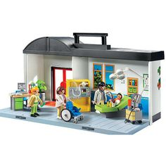 "Playmobil Take Along Hospital - Playmobil - Toys ""R"" Us"