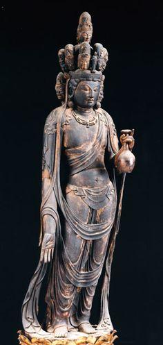 十一面観音(渡岸寺)Guanyin [ Dougan-ji ] 9th century