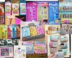 Cute Kawaii Fun Ball Pen Pencil Stationary Korean Rilakkuma tape card Grab lots