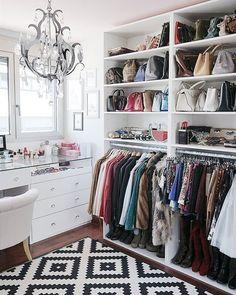 Choice Your Best Closet Storage Ideas Inside Your Room closet inspiration Wardrobe Room, Closet Bedroom, Master Closet, Master Bedroom, Spare Room Closet, Closet Space, Closet Curtains, Entryway Closet, Shoe Room