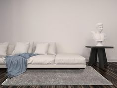 Sofa, Couch, Modern, Blue, Nepal, Furniture, Home Decor, Settee, Settee