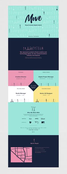Brand strategy, visual identity and site design for a digital recruitment agency…