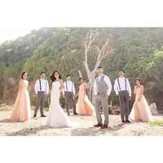 """axioo on Instagram: """"Good friends are like stars. You don't always see them, but you know they're always there!  Congratulation to the newly weds @ardionherman and @ceciliavania...may your love be like a shining stars. We love you both! Photo by @ivanmario Organize by @kenisha_wo Make up by @meliamomiji Dress by @yeftagunawan Venue @banyantreebali Bridesmaid gown by @gv_gabriellavania #ardionvaniawedding #ardionvania"""""""