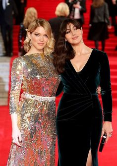 Lea Seydoux And Monica Bellucci Wearing Chopard Jewellery 1