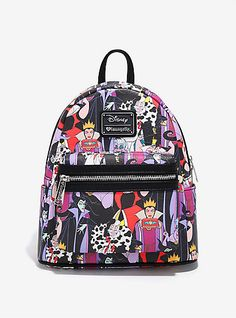 Loungefly Disney Villains Mini BackpackLoungefly Disney Villains Mini Backpack,