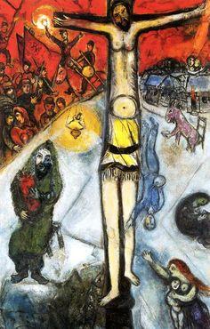 Marc Chagall painting De verrijzenis