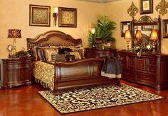Coronado Sleigh Bedroom By A.R.T.