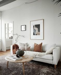 Petit Salon Beige 35 Minimal Beige Home My Living Room, Living Room Interior, Living Room Decor, Scandinavian Interior Living Room, Nordic Living Room, Minimalist Living, Minimal Living Rooms, Minimalist Home Design, Home And Deco
