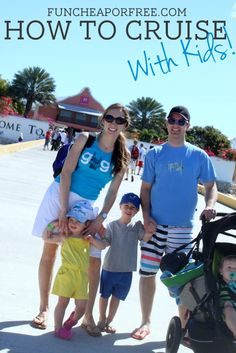 How to cruise with kids - everything you could possibly ever need to know!!! Breakdown of how to travel with kids, how to find the best deal, what it costs, and tons of other tips. Pin now, read later!!! #travel #cruise #kids
