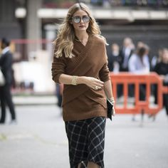 Olivia Palermo's Outfits at Fashion Week Spring 2017