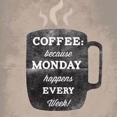 Another chilly #morning! Life's better but with a hot #coffee to wrap my fingers around & start work! What's #Monday got in store for you?