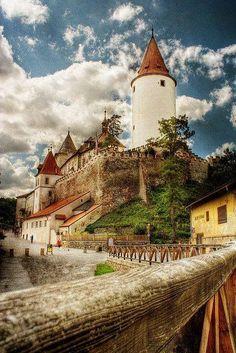 Krivokalt Castle, Czech Republic Most Beautiful, Beautiful Castles, Beautiful Places, Amazing Places, Beautiful Buildings, Places To Travel, Places To Visit, Travel Destinations, Le Village