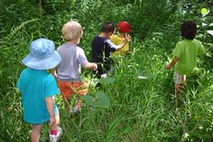 """""""A Classroom Without Walls – Deepening Children's Connections With Nature"""" Maria Montessori Montessori Quotes, Montessori Activities, Educational Activities, Maria Montessori, All Nature, Walking In Nature, Nature Blogs, Outdoor Play Spaces, Outdoor Fun"""