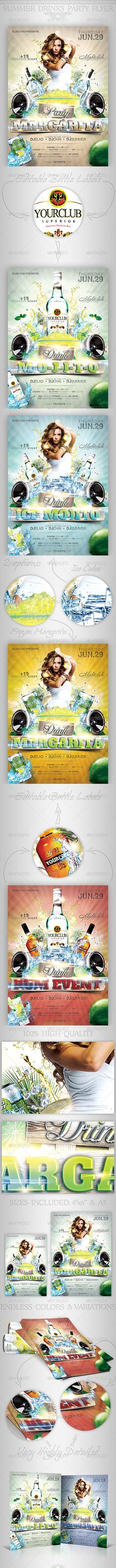 A modern fresh design with a unique touch, perfect for clubs and events 2 PSD files & Fully layerd and very well organized in color coded groups Easy to achieve endless variations & color options Easy image replacement Easy to edit te