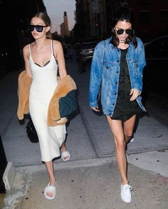 Kendall Jenner and Gigi Hadid in NYC 6.20.16