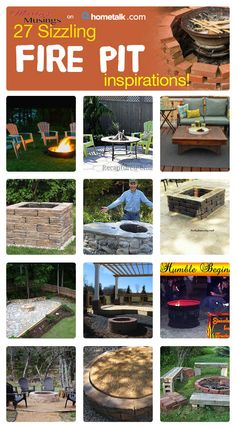 Outdoor Fire Pit Ideas with Hometalk - Marty's Musings