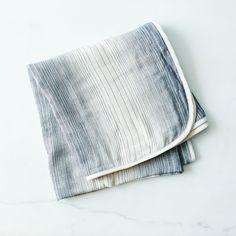 Ultra Soft Lightweight Cotton Throw from Food 52.