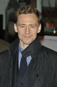 Tom Hiddleston at the press night for 'The Book of Mormon' at Prince Of Wales Theatre on March 21, 2013