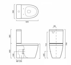 Carlo Compact Close Coupled Back to Wall Short Projection Toilet Suite with Soft Close Quick Release Seat Toilet Suites, Intelligent Design, Save Water, Compact, Toilets, Bathrooms, Smart Design, Bathroom, Full Bath