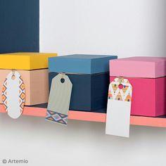 Decora la habitación de tus pequeños gracias a este tutorial fácil de realizar: Las cajitas tesoro de Artemio.
