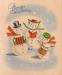 snowman band: Worker B, Sweet B, Baby B