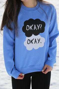 I just want to amass clothing I can wear to the pictures when the TFIOS film comes out :-)