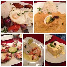 Peruvian food!