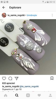latest nail art designs gallery nail designs for short nails step by step nail stickers walmart nail appliques best nail wraps 2019 nail designs coffinnail designs for short nails easy full nail stickers best nail stickers nail art strips Holiday Nail Art, Christmas Nail Designs, Christmas Nail Art, Winter Christmas, Christmas Ideas, Christmas Nails 2019, Latest Nail Art, Trendy Nail Art, Xmas Nails