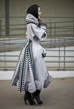 Galliano Coat, Paris