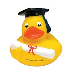 Promotional Graduate Rubber Duck | Advertising Rubber Ducks | Customized Rubber Ducks