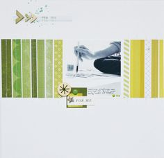 for me - green layout by andreacollects at @Studio_Calico