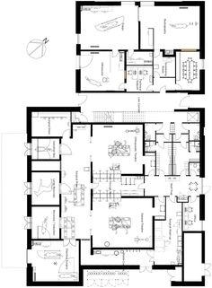Sheppard Robson designs barn-style extension for Edinburgh horse hospital Hospital Floor Plan, Hospital Plans, Pet Hospital, Hospital Architecture, Architecture Plan, Horse Stables, Horse Tack, Floor Plan Drawing, Shelter Design
