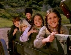"""Little House On The Prairie"" - Ingalls children: James, Grace, Albert, Cassandra, and Carrie"