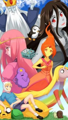 Adventure Time With Finn and Jake Fan Art: Adventure Time in Anime Cartoon As Anime, Cartoon Tv Shows, Anime Art, Anime Style, Cartoon Network, Finn The Human, Jake The Dogs, Adventure Time Finn, Bubbline