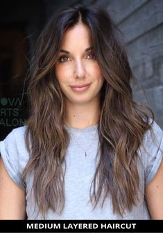 Ask for this impressive medium layered haircut as it just might be the perfect fit for you! Now, click here to see the 29 coolest medium layered haircuts for an incredible look. // Photo Credit: @novaartssalon on Instagram Latest Hairstyles, Hairstyles Haircuts, Medium Length Hair Cuts With Layers, Medium Layered Haircuts, Photo Credit, Brown Hair, Perfect Fit, The Incredibles, Long Hair Styles