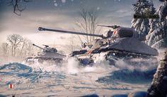 Lataa kuva Sherman Firefly, talvi, World of Tanks, WoT Tank Wallpaper, 2015 Wallpaper, January Wallpaper, Poder Naval, World Of Tanks Game, Sherman Firefly, Les Satellites, Tank Armor, War Thunder