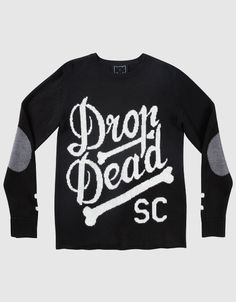 Boner Knitted Sweatshirt, #DDPINTOWIN