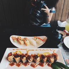 Sushi at KASA, Thailand