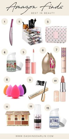 Suggestions For How To Reduce And Get Rid Of Skincare Issues - Beach Beauty Life Best Amazon Buys, Amazon Beauty Products, Best Makeup Products, Things To Buy, Stuff To Buy, Makeup Essentials, Amazon Gifts, Hair Hacks, Hair Tips