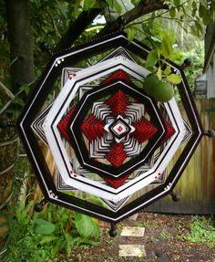 "24"" clásico mandala tejido hilado arte - colgante de pared del Ojo de Dios-"