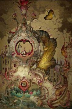"""Future Telling"" ~ Daniel Merriam ~ Watercolorist Extraordinaire"