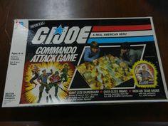 vintage 1985 GIJOE Commando Attack Game