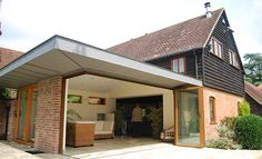 single storey flat roof extension