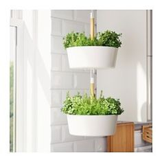 BITTERGURKA Hanging planter IKEA Hang your herbs by a window, then unhook and bring to the table or cooking pot for fresh herbs with every meal. Diy Hanging Planter, Hanging Planters, Garden Planters, Herb Garden, Planter Pots, Planter Ideas, Garden Tips, Beauty Room Decor, Porch Plants