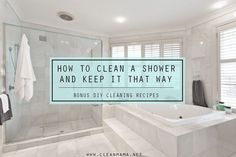 One of the top questions I receive has something to do with cleaning a shower, cleaning soap scum, how to keep a shower clean, etc.  Showers are tough.  If it's a shower that's used regularly, it's damp and has a fair amount of moisture that needs to fully dry on a daily basis.  If it isn't... (read more...)