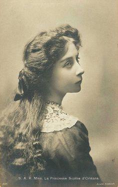 Prinzessin Sophie d`Orleans, daughter of the Duke of Vendome