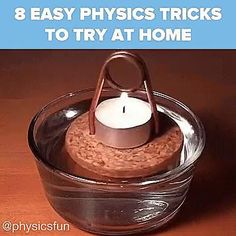 Physics Tricks, Science Tricks, Science Experiments Kids, Science Projects, Projects To Try, Science Gif, Diy Crafts Hacks, Fun Crafts, Crafts For Kids