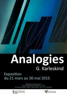 Analogies - Exposition de Georges Karleskind, Colmar (68000), Alsace