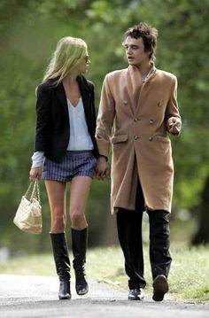 Peter Doherty & Kate Moss