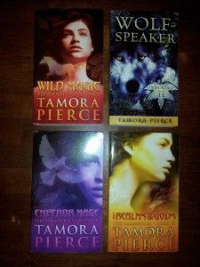 The immortal instruments quartet by Tamora Pierce